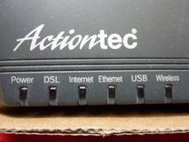 ACTIONTEC ADSL MODEM; COMPLETE W/POWER SUPPLY & ALL CABLES in Fort Leonard Wood, Missouri