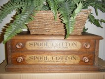 J & P COATS SPOOL COTTON CABINET in Fort Rucker, Alabama