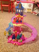 Authentic Disney Magiclip slide and glide castle with Princesses in DeRidder, Louisiana