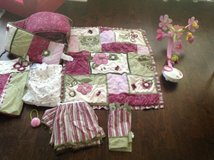 Crib bedding and a mobile pink/purple in Clarksville, Tennessee