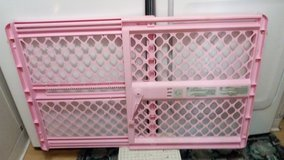 baby gate..pink in Moody AFB, Georgia