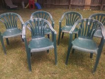 lawn/plastic chairs in Spring, Texas