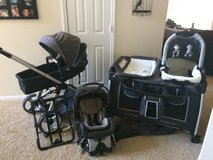 Baby Trend Stroller, carseat, nursery center (matching set) in Kingwood, Texas