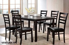LABOR DAY SALE!! 7PC ESPRESSO QUALITY WOOD DINING SET! in Camp Pendleton, California