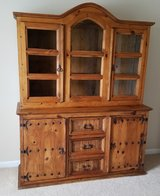Solid Wood Hutch Santa Fe in Dover AFB, Delaware