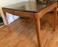 Wood dinet table in Eglin AFB, Florida