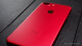 Red IPhone 7 plus in Las Cruces, New Mexico