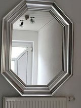 Silver Octagon Mirror in Ramstein, Germany