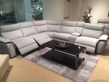 BRAND NEW! CONTEMPORARY SLEEK STYLING 3 POWER RECLINER SECTIONAL in Camp Pendleton, California