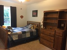 Crib to toddler bed to full bed bedroom set in Batavia, Illinois
