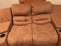 2piece couch and sectional in Bartlett, Illinois