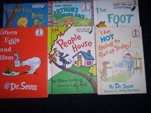 7 Dr. Seuss / Bright and Early Books I'm Not Going To Get Up Today etc. in Alamogordo, New Mexico