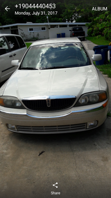 2000 LINCOLN CAR ,, GREAT CONDITIONS, VERY COLD AC in Mayport Naval Station, Florida