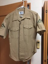 Lance corporal Charlie's blouse in Okinawa, Japan