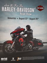 HARLEY BIKE SHOW in Hohenfels, Germany