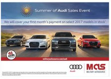 Summer of Audi Sales Event in Ramstein, Germany
