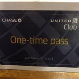 United Club Passes (2) in Okinawa, Japan