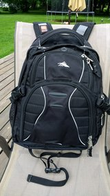 Backpack by High Sierra/ Swerve Model/Suspension system straps/Great shape! Roomy!! in New Lenox, Illinois