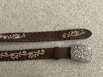 Woman Leather Belt in Bolingbrook, Illinois
