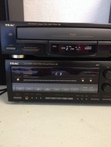 5DVD AND TEAC reciver & spekars110v in Ramstein, Germany