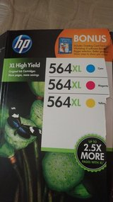 HP 564xl ink cartridges NEW in Lawton, Oklahoma