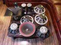 Lot of Vintage / Retro Professional Audio Speakers: Woofers, Tweeter, Midrange Horns for Guitar ... in Fort Knox, Kentucky