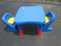 ADJUSTABLE TABLE & CHAIRS in Morris, Illinois
