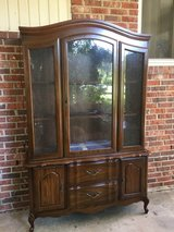 Two Piece China Hutch Cabinet in Beaufort, South Carolina