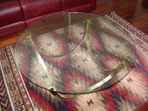 Glass Coffee Table (with Navajo rug) in Vacaville, California