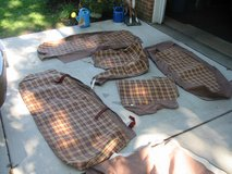 1949-51 Ford seat covers, new old stock w/ instruction sheets and hardware in Naperville, Illinois