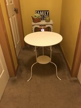 Accent table white in Morris, Illinois
