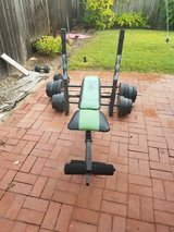 weight bench press in Vista, California
