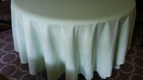 Tablecloths- mint green in Oswego, Illinois