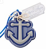 NEW - Luggage Tag - Kate Aspen Anchor Away in Okinawa, Japan