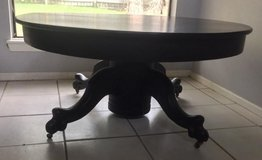 "Rare Antique ""One Claw"" coffee table in Conroe, Texas"