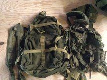 Small assault pack / suspenders / load carrier vest in Baumholder, GE