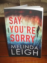 Say You're Sorry By Melinda Leigh in Ramstein, Germany