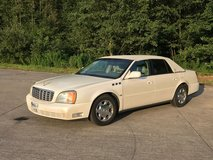 Reduceed! Cadillac Deville DTS Gold edition low miles full options in Wiesbaden, GE