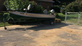 14 ft V John-boat 9.9 Honda trailer and more in Elizabethtown, Kentucky