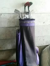 Woman golf clubs and bag in Lockport, Illinois