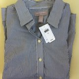 BNWT Gray and White Striped Collared Shirt, Sz. 12 in Stuttgart, GE
