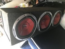 "3 12"" Subwoofers in Shorewood, Illinois"