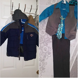 Blue 4T jacket SOLD, and 2T suit available in Travis AFB, California