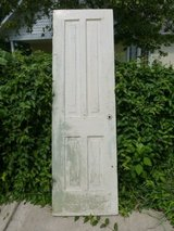 antique interior door solid wood 24 X 79 1/2 in Oswego, Illinois