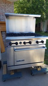6 Burner Commercial Stove in Clarksville, Tennessee