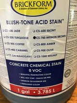 Concrete Stain in Kingwood, Texas