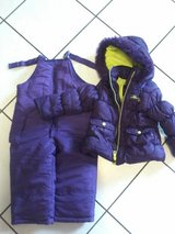 2T Purple snow bib and coat in Ramstein, Germany