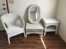 White Wicker Set in Todd County, Kentucky