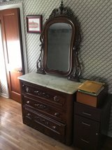 Marble Top Dresser with Tilt Mirror in Todd County, Kentucky