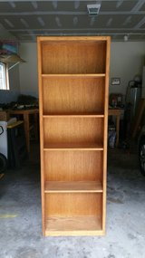 5 Shelf Bookcase (Oak) in Wilmington, North Carolina